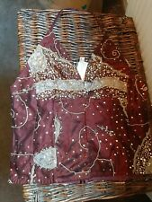 Full Circle vintage Sequin halter neck top  Womens Clothing BNWT