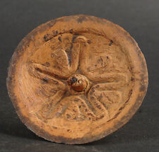 SPINNING TOP MADE FROM COCONUT SHELL  APRIL RIVER OF PAPUA NEW GUINEA