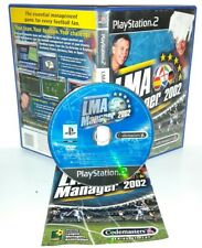 LMA MANAGER 2002 - Ps2 Playstation Play Station 2 Gioco Game