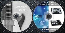 3.056 Patches ROLAND GR-55 VG-99 Multi Effects library & 48.328 Guitar Tab Music
