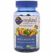 Orgánica para hombre Multi Vitamina 40+ por jardín de la vida mykind Organics 120 Gotas De Goma