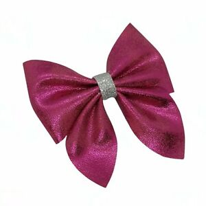 Pink HAIR Clip BOW ALLIGATOR CLIP GIRLS BABY HAIR BOW pink  Bow School bow