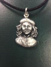 Pendentif che guevara berret militant pewter collier fabriqué à la main au royaume-uni finition neuf