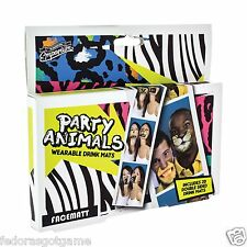 Party Animal Face Coasters Bar Coasters