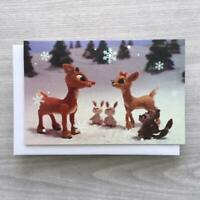 7 Rudolph the Red Nosed Reindeer & Clarice Christmas Cards