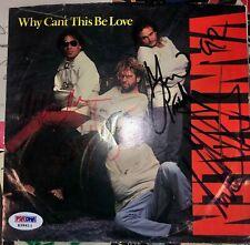Van Halen 5150 45 record vinyl signed autograph by ALL Eddie Van Halen PSA LOA