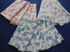 Toile Cotton Fabric Lot 12 Fq Pieces Laurel by Crystal Streeter for P&B Textiles