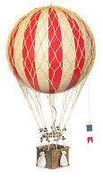 Royal Aero True Red Hot Air Balloon Hanging Aviation Decor Model AP163R NEW