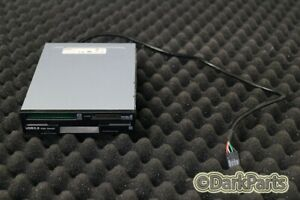 TEAC FD-CR7 Black USB Internal 7-IN-1 Media Card Reader Drive 19308950-00 Floppy