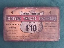 Sure Shield Iodised Throat Lozenges Tin