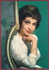 GINA LOLLOBRIGIDA 47 ATTRICE ACTRESS ACTRICE CINEMA MOVIE STAR PEOPLE Cartolina