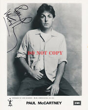 PAUL McCARTNEY Beatles Signed 8x10 Autographed Photo Reprint