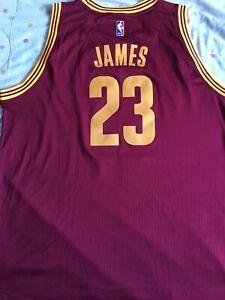BNWT Lebron James Cleveland Cavaliers Cavs Basketball Jersey 2XL Lakers Heat