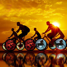 Programmable DIY Cool Pictures Bicycle Bike LED Lights Spoke Flash Tyre Wheel