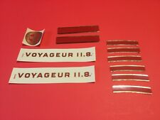Authentic NOS  Schwinn Voyageur 11.8 decals set (bx15)
