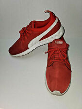 Puma Sport Lifestyle Mens Running Shoes Red & White FTWRF/FVNRF Size 10.5 breath