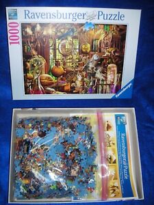 "Ravensburger  "" Merlin's Laboratory "" 1000 Piece Jigsaw Puzzle / MINT Look"