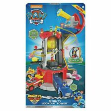 PAW Patrol, Mighty Pups Super PAWs Lookout Tower Playset with Lights and Sounds