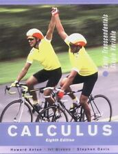 Calculus: Early Transcendentals Single Variable by Anton, Howard, Bivens, Irl C
