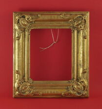 Rahmen - Spiegelrahmen - 19. Jh. - Holz, Ornamente Masse, vergoldet    (# 2675)