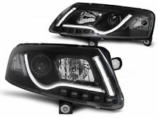 HEADLIGHTS RHT LPAU96 AUDI A6 SALOON / ESTATE 2004 2005 2006 2007 2008 LED TUBE