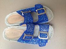 Ciabatte sandali Lagoa blu con glitter Tg. 36 - Ottime condizioni 1594137f20b