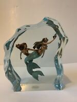 "Christopher Pardell Limited Edition 377/500 Keep-A-Way, 12"" Mermaid Sculpture"