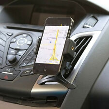 Universal Mobile Phone GPS 360 Rotating Car Air Vent Mount Holder Cradle Stand