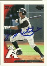 2010 Topps Pro Debut JARED MITCHELL Signed Card autograph LSU TIGERS white sox