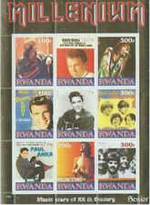 1999 Rock Legends Elvis Beatles Monkees - 9 Stamp  Sheet 18A-059