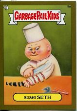 Garbage Pail Kids Mini Cards 2013 Gold Parallel Base Card 9a Sushi SETH