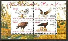 BURUNDI 2011 BIRDS OF PREY SHEET MNH