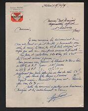 """SAINT-HILAIRE (03) RESTAURANT """"Georges FRANC"""" en 1929"""