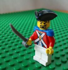 Lego Officer Minifig Sword Pirates Soldier Pirate 6243