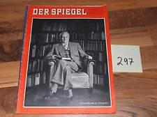 Der Spiegel Grenzdenker Jaspers Heft vom 31.08.1960 Art. Nr. 297