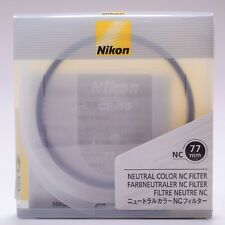 Nikon 77mm NC Neutral Color UV Filter Lens Protection