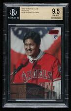 2018 Topps Stadium Club Red Foil Shohei Ohtani #138 BGS 9.5 Rookie RC Gem Mint