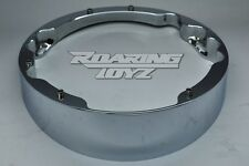 "HARLEY DAVIDSON CHROME RAKED HEADLIGHT BEZEL ULTRA LIMITED 26"" 30"" Wheel Bagger"