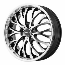 "Helo 20x8.5 HE890 Wheel Gloss Black Machined 5x120 PCD +35mm Offset 6.13""BS"