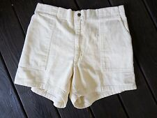 TOWNCRAFT true vintage yellow corduroy flat front skater shorts 38