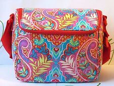 Vera Bradley Stay Cooler Lunch Tote Paisley in Paradise