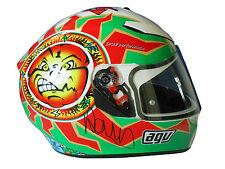 Valentino Rossi Hand Signed AGV Helmet MotoGP Legend Very Rare.