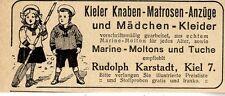 Kieler Knaben- Matrosen Anzüge & Mädchen-Kleider 1913