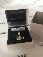 AUTHENTIC PANDORA 791441NCK Disney Mickey and Minnie Heart Dangle Retired