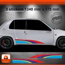 102Y Kit déco Rallye PEUGEOT SPORT 106 107 108 Rally sticker aufkleber adesivo