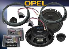 { Crunch 16 cm Lautsprecher für Opel Astra H vorne