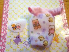 Barbie Kelly Krissy Baby Clothes *Krissy's Teddy Bear Pajamma Gown & Bib*