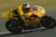 Luis Salom Hand Signed Paginas Amarillas HP 40 Kalex 12x8 Photo 2015 Moto2 1.