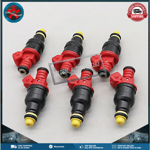 Set of (6) Fuel Injectors 0280150931 For 93-96 Ford Explorer 97 Mazda B4000 4.0L