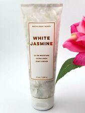 Bath and Body works WHITE JASMINE Ultra Shea Body CREAM lotion 8 oz